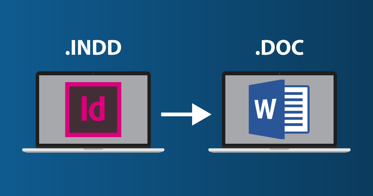 indesign 导出word