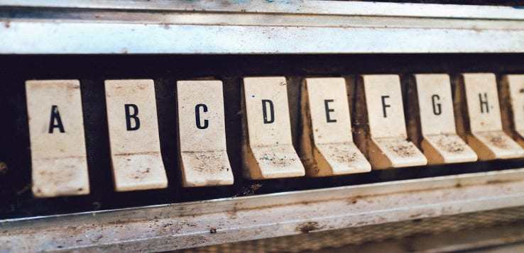 翻译字母表
